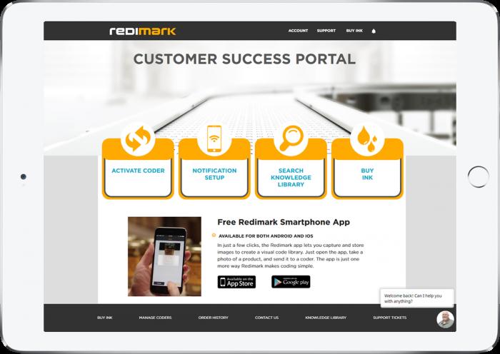 Redimark Customer Success Portal