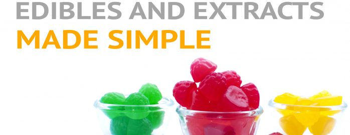 Gummy candies in dishes.